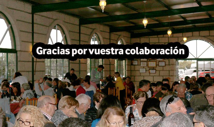 Almuerzo Solidario, éxito de participación