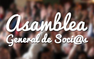 Asamblea de General de Socios y Socias 2020