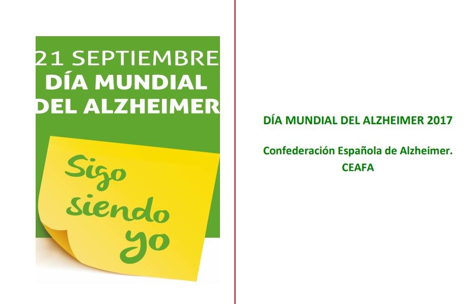 21 de septiembre 2017. Día Mundial del Alzheimer