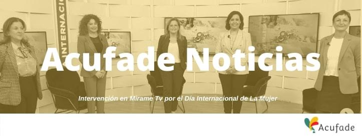 Entrevista en Mírame TV por el Día Internacional de la Mujer